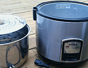 Oyama stainless steel, electric rice cooker